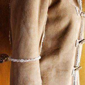 natalie & me weekend Jackets & Coats - Faux Suede Tan Coat